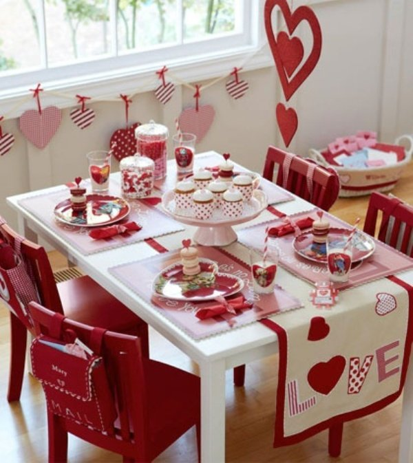 Valentine Home Decorating Ideas: 24 Romantic Table Decor Variants For The Best Valentine's