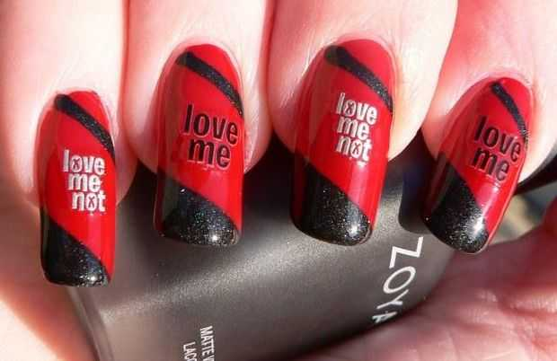 31 Lovely Valentines Day Nail Art Ideas World Inside Pictures