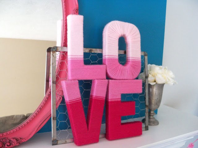 23 Cute And Romantic DIY Home Decor Ideas For Valentine's
