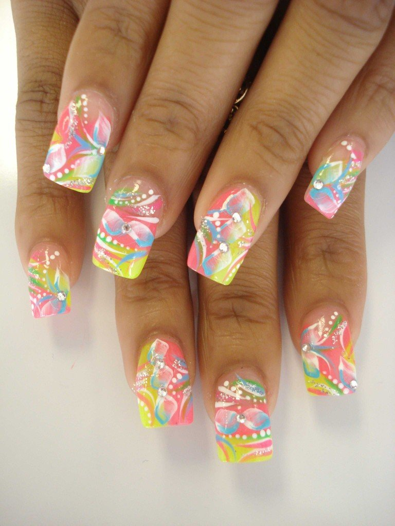 38 Creative And Fun Nail Art Designs World Inside Pictures
