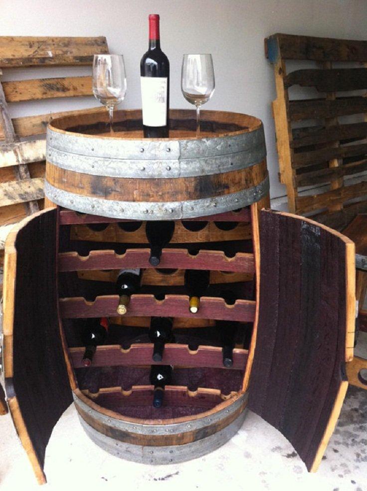 creative diy wine racks