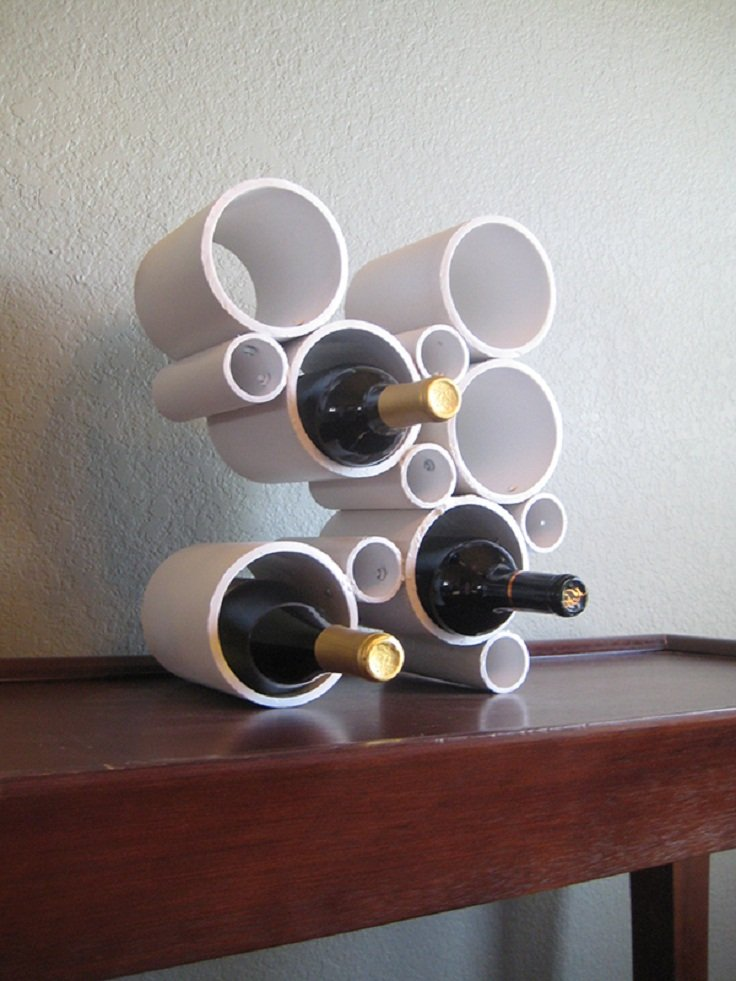 diy decorative wine racks