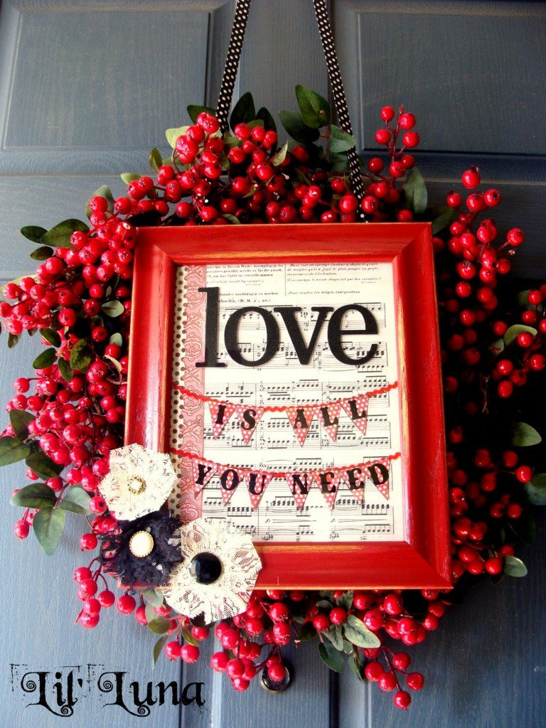 23 Cute And Romantic DIY Home Decor Ideas For Valentines