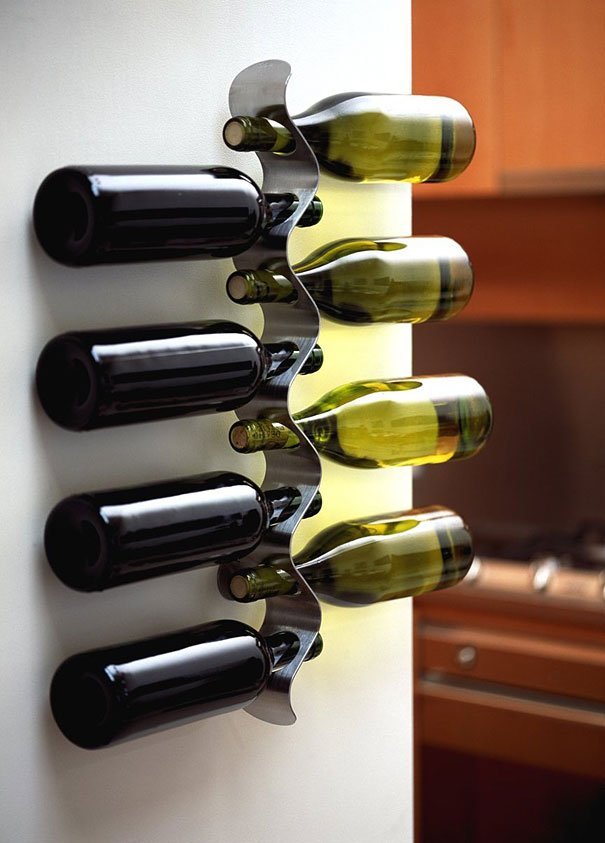 diy metal wine racks