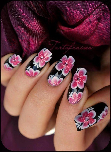 easy and stylish nail art designs