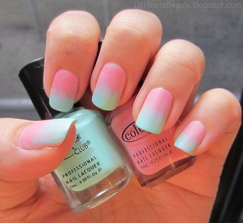 stylish simple nail art