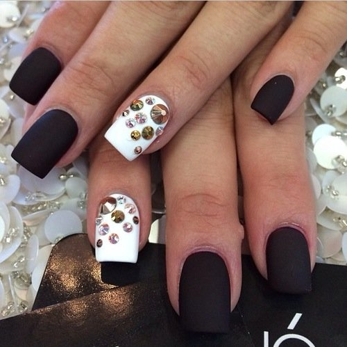new stylish nail art