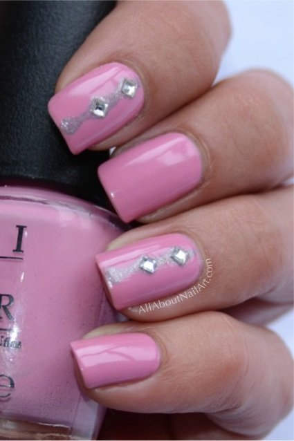 trendy acrylic nail designs