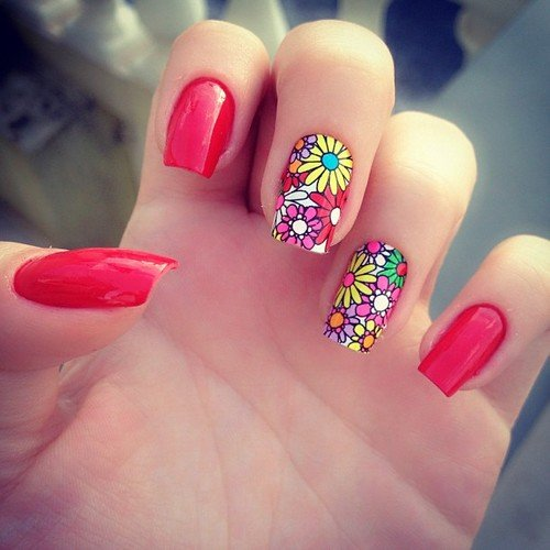 30 Fashionable Nail Art Design Spring Summer 2014 World Inside