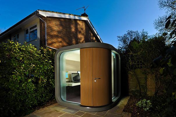 unusual backyard office