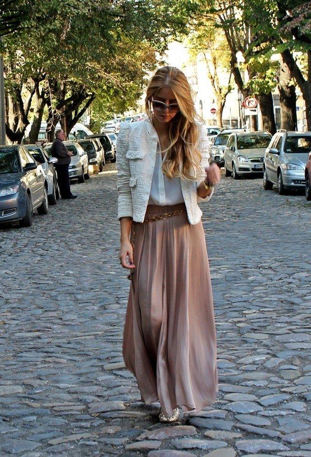 35 Maxi Skirt The Best Street Style Choice World
