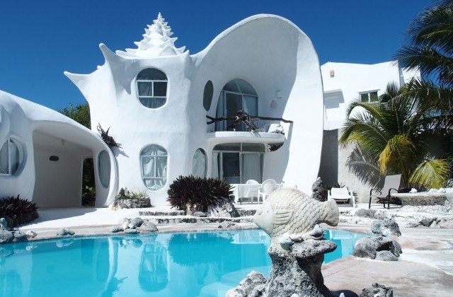 Image result for conch shell house