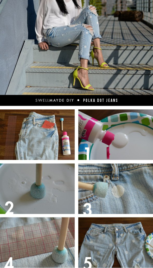 diy transform old jeans