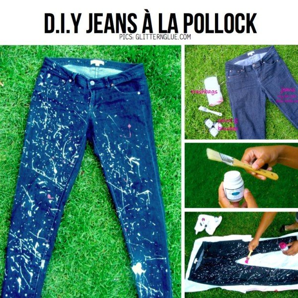 how to renew your old jeans