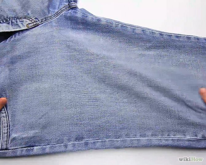 how to redesign old jeans