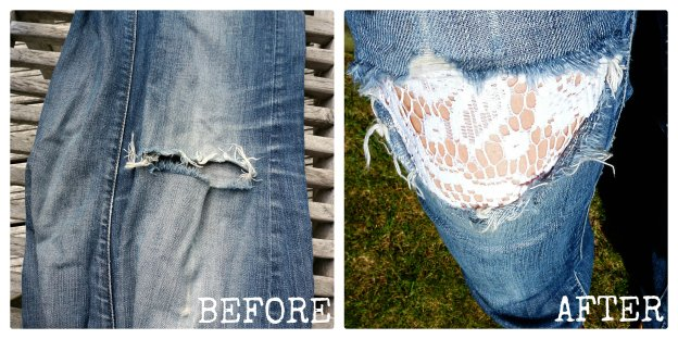 refashion old jeans
