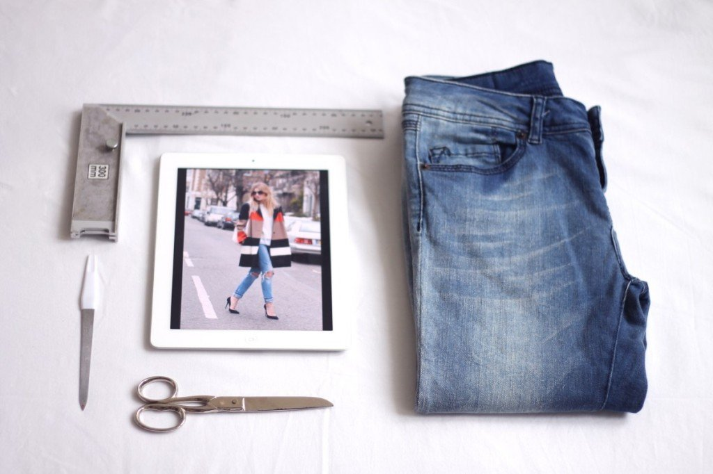 DIY jeans ideas