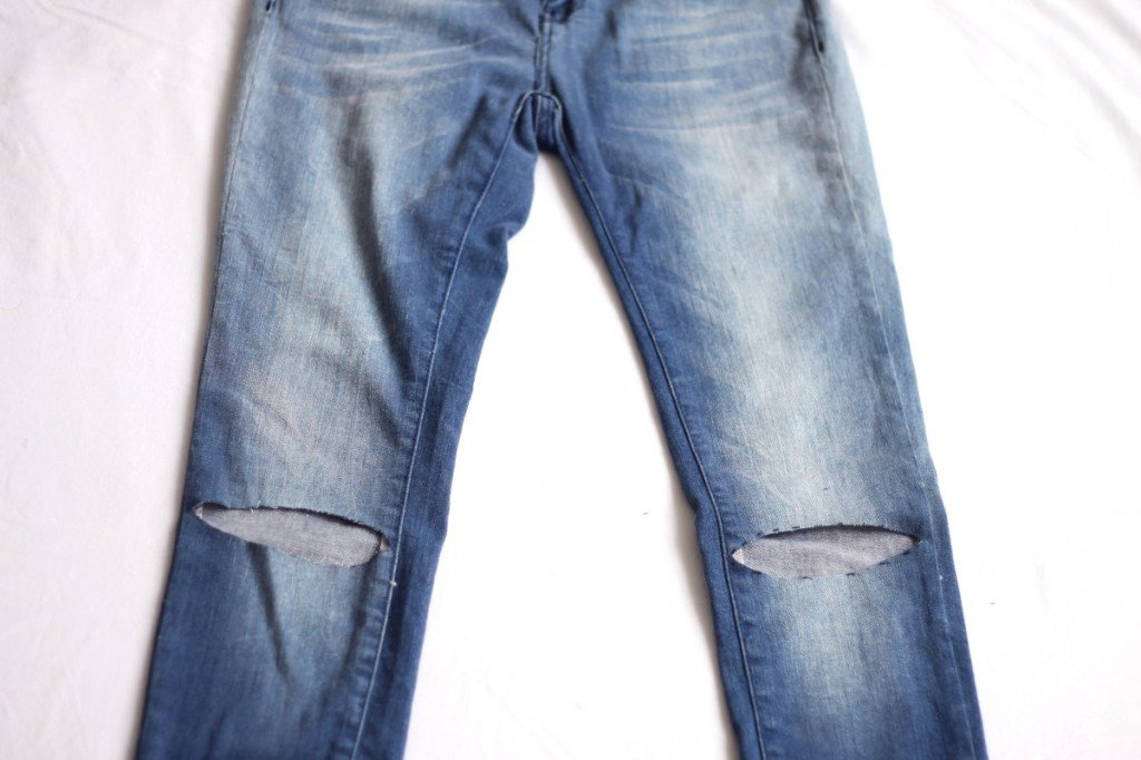 step by step jeans