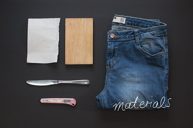 how to make old jeans look stylish