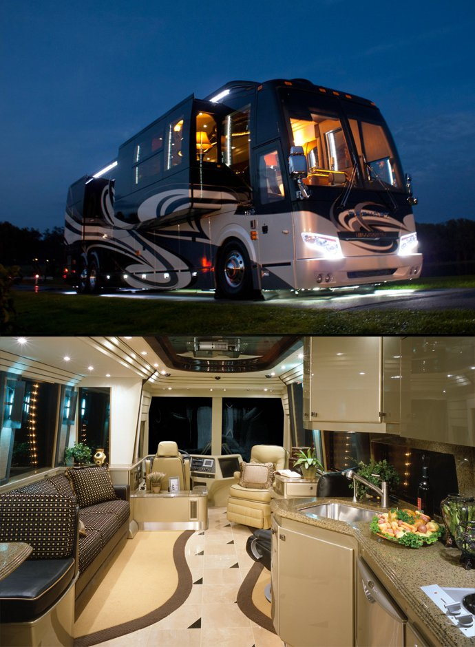 5 most expensive luxury motorhomes in the world world for Most expensive motor homes