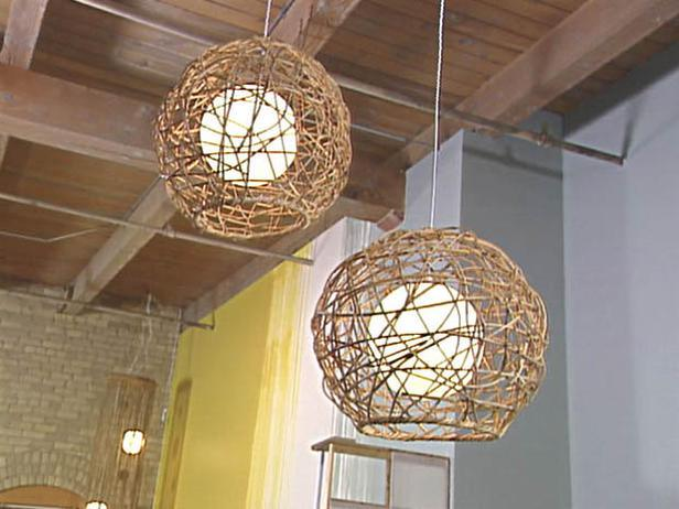 Woven Rope Pendant Lamp 15 Source 233
