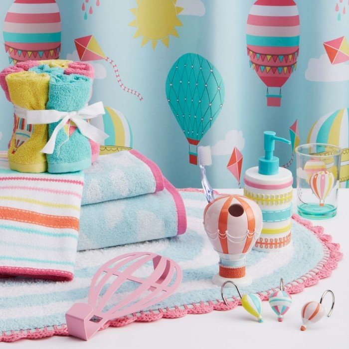 cute kids bathroom accessories