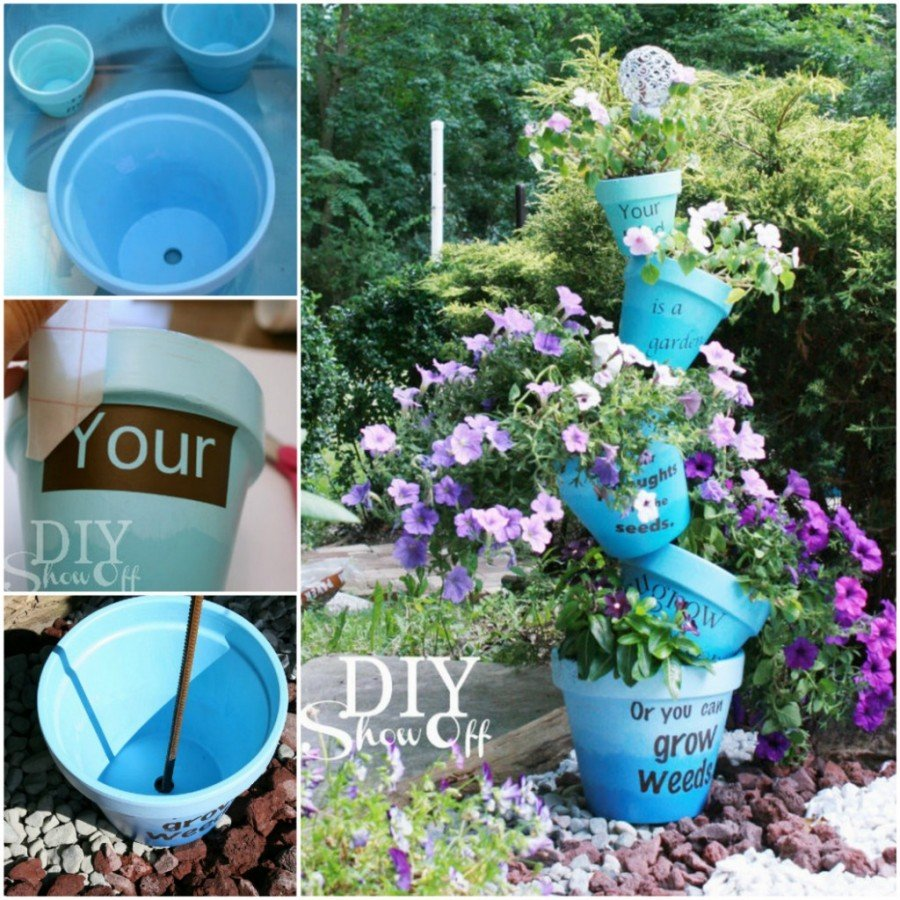 15 Creative Garden Ideas You Can Steal: 14 Brilliant Terra Cotta Clay Pot DIY Project For Unique