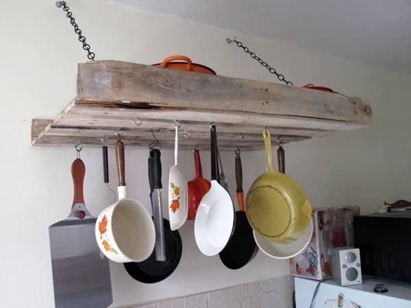 pallet kitchen organizer