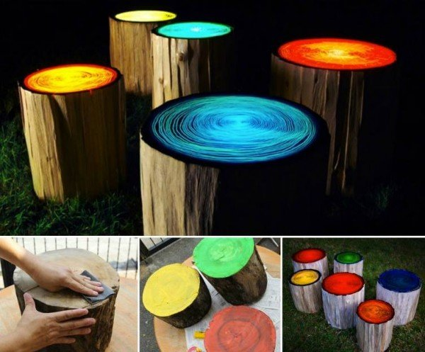 These-Glowing-Tree-Stump-Stools-will-look-fantastic-in-your-garden-or-entertaining-area.-e1428280314186