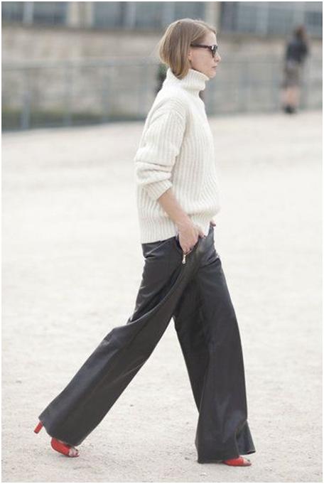 stylish palazzo pants outfits