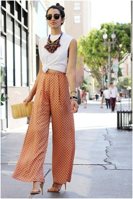 summer palazzo pants