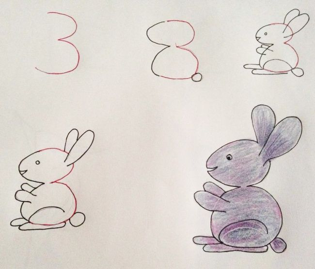 drawing ideas with numbers
