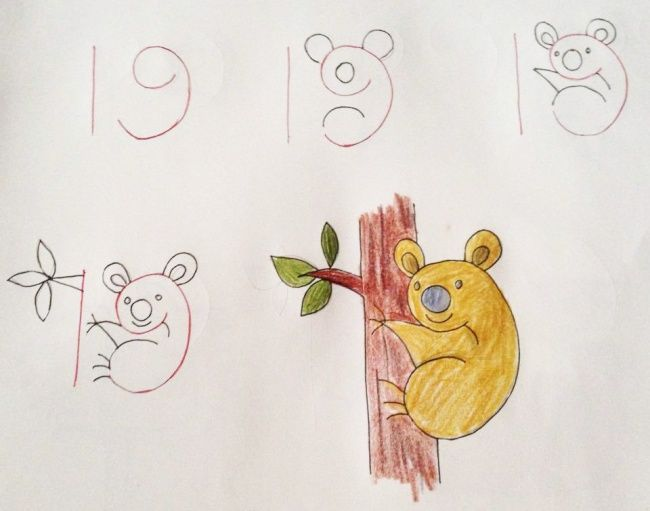 number drawing 1 to 20