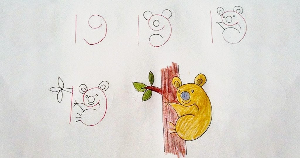 20 Creative and Easy Kid-Friendly Drawings That Are Made ...