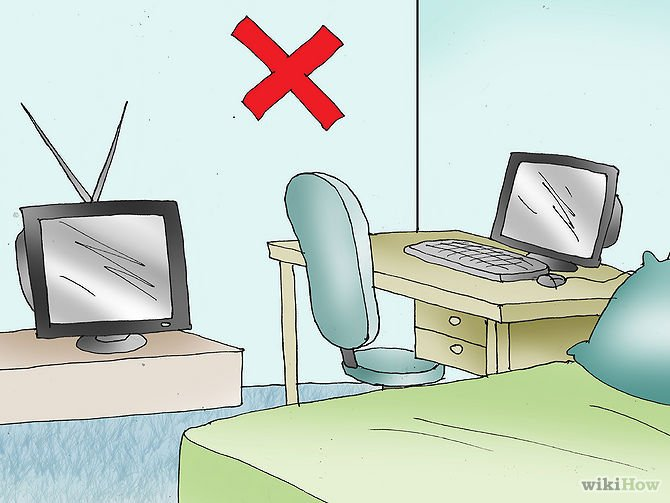 feng shui bedroom with desk