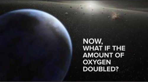 what would happen if oxygen doubled