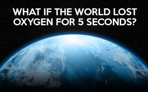 what would happen if there is no oxygen on earth