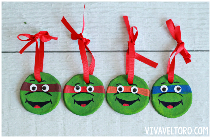 13 adorable christmas salt dough ornaments for kids that you can diy teenage mutant ninja turtles ornaments solutioingenieria Images