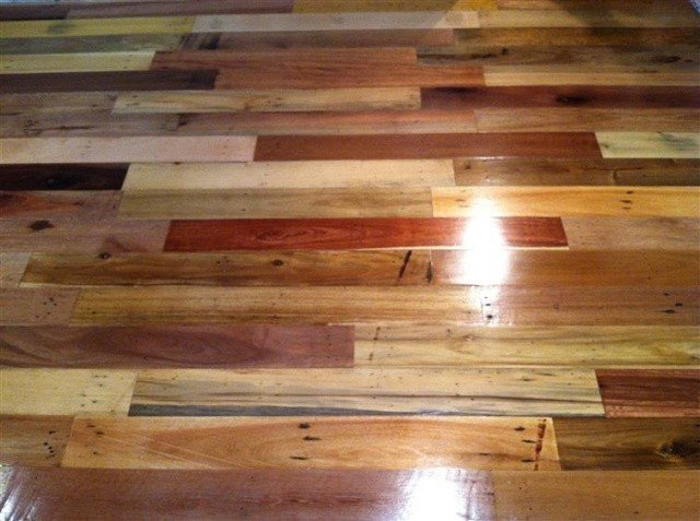 Must See Diy Project From Pallets To Floor The Art Of Wood