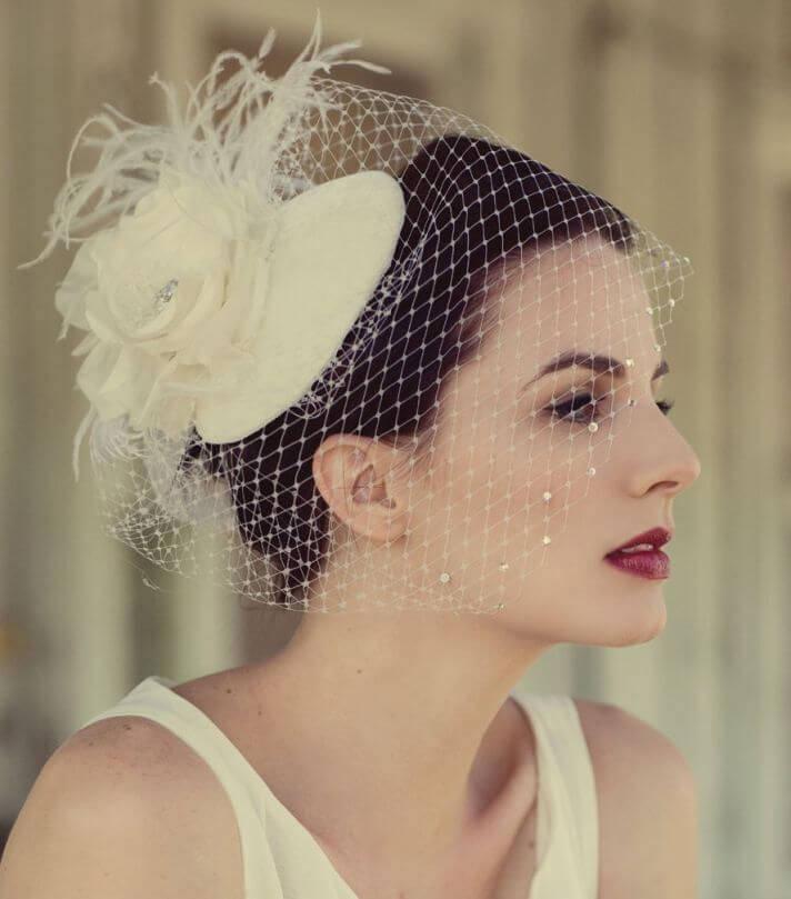 6_veiled hat