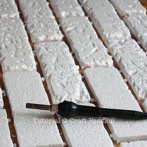 styrofoam wall decoration