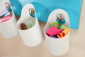 craft using shampoo bottle