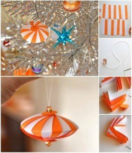 diy paper christmas decorations instructions