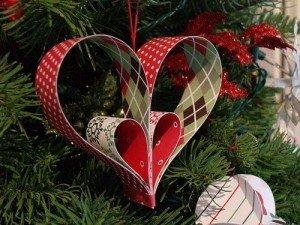 diy hanging paper christmas decorations