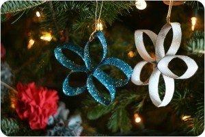 diy christmas decor made of paper