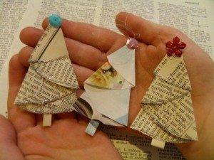 paper christmas ornaments for preschoolers