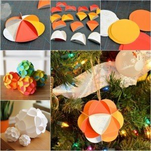 how to make paper ornaments step by step