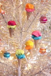paper ice cream decoration