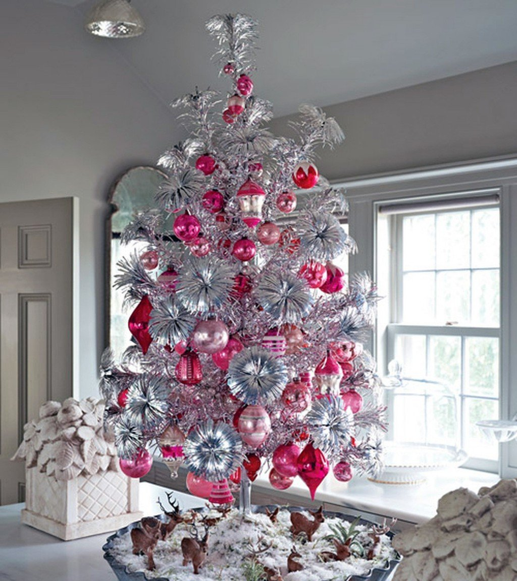 Christmas Tree Colour Schemes 2014: Best Color Schemes To Decorate Your Christmas Tree This