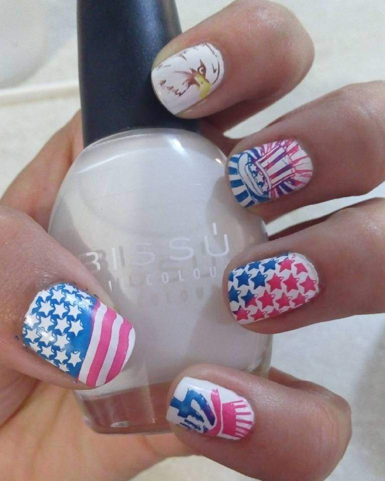 Creative Independence Day Inspired Nails Art Designs You Should Try